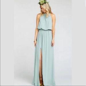 SHOW ME YOUR MUMU • heather halter dress